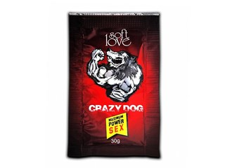 Energético afrodisíaco Crazy Dog super concentrado 30g - Soft Love