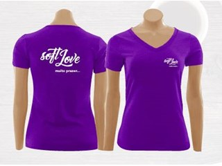 Camiseta promocional - Soft Love